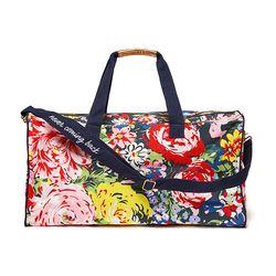 GETAWAY DUFFLE BAG - FLOWER SHOP