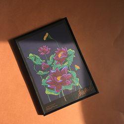연꽃 (포스터+액자)