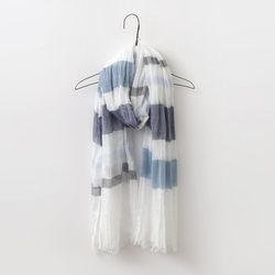 New Cotton Stripe Scarf
