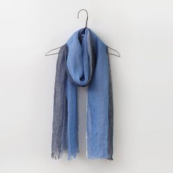 Linen Three Scarf