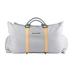 7th Mon Carseat Super Size Silver Gray