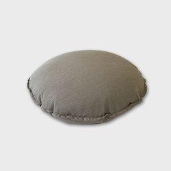 린넨 원형 60방석 gray