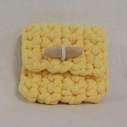 Duffle knit case (Yellow)