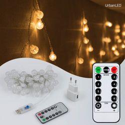 어반 LED 버블전구 50구 USB형