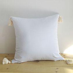 White Linen Tassel (솜포함)