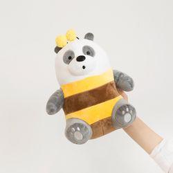위베어 베어스 시팅 25cm (판다 꿀벌)