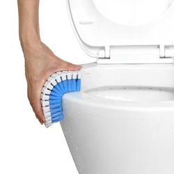 구부러지는 세척솔 욕실청소 세면대