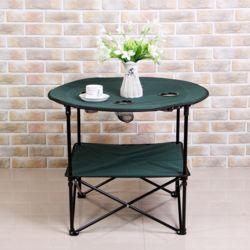 접이식 컵홀더 캠핑테이블