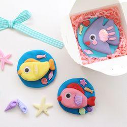 물고기 비누5set