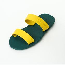 MC03 Two Straps Green-Yellow