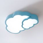 더블 구름 LED 방등 50W [블루/핑크]