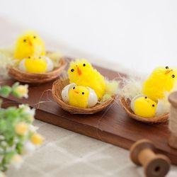 둥지 병아리 12개(5cm)