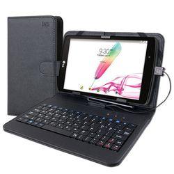 안드로이드 태블릿PC 케이스 키보드 7-8인치 블랙