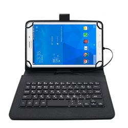 IK 태블릿PC 케이스 키보드 7-8인치 블랙