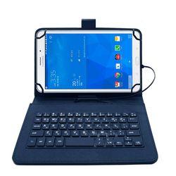 IK 태블릿PC 케이스 키보드 7-8인치 다크네이비