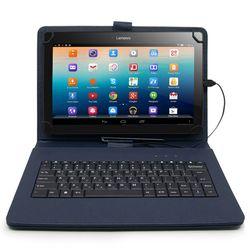 고리형 태블릿PC 케이스 키보드 9-10인치 다크네이비
