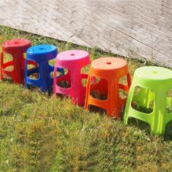 국내산 파라솔 보조원형의자 4개세트 편의점 의자 야외의자