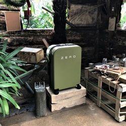 [에코백 증정] ZERO 2 스마트 캐리어 20 INCH OLIVE GREEN