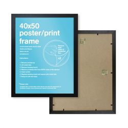 GBeye 정품 포스터프레임 40x50 액자 (블랙)