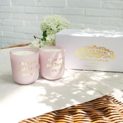 Hope and dreams candle set