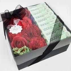 [더로라]꽃다발 용돈 박스 - 어버이날 용돈박스 MUU905