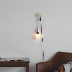 루미르B 플러그형 후크SET(벽조명 벽등 수면등 3단계 밝기조절)