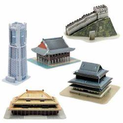 [스콜라스]세계 유명 미니건축물23D종이입체퍼즐
