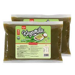 [상품명에 대괄호 금지] 귤카야잼 카야밀라 오리지널 카야잼 1kg 2개