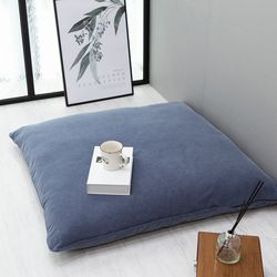 베이직대방석 블루(L 일반형 솜포함)