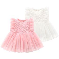 작은 꽃잎 아기 드레스(0-18개월) 203865