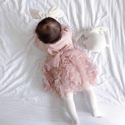 엘리스 골지 유아 드레스(0-5세) 203796