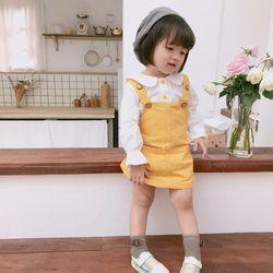 개나리 유아 멜빵원피스 2종세트(1-6세) 203798