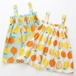 레몬 팡팡 민나시 유아 원피스(12개월-6세) 203870