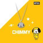 [BT21] 실버 목걸이 : CHIMMY