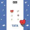 [BT21] 실버 패키지귀걸이 : TATA