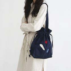 [사이코지만 괜찮아 박규영 착용] DUMPLING BAG NAVY