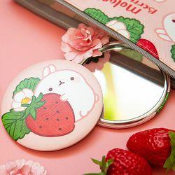 몰랑 봄딸기 손거울
