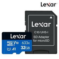 렉사 공식판매원 microSD카드 633배속 UHS- I급 32GB