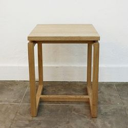 Frame stool(Ash)