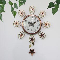 꽃어울림 동브론즈 추벽시계 SBC-310