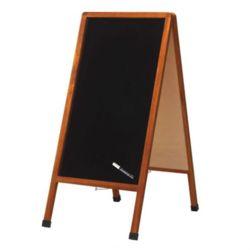 Raymay 레이메이 A형 스탠드형 유광 블랙보드 (LNB100