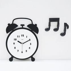 트윈벨무소음벽시계(탁상겸용)