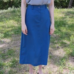 Loni linen skirt(린넨50)