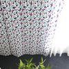 베리머치 꽃무늬 작은창 커튼 - S사이즈