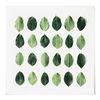 중형 패브릭 포스터 S009 북유럽 식물 액자 나뭇잎 패턴
