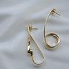 612 EARRINGS [GOLD]