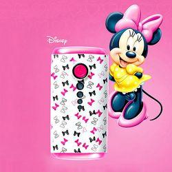 [디즈니정품] 디즈니 미니마우스 스마트폰 보조 배터리 4000mAh