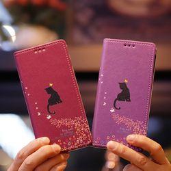 아이폰6s Ventosa-Melodia 수제 지갑 다이어리 케이스