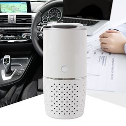에어케어 헤파필터 차량용 공기청정기(컵홀더형) CY-1 필터추가