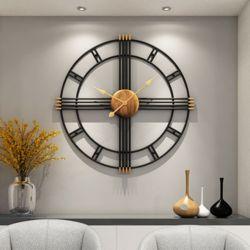북유럽 모던 엔틱 크로스 대형 인테리어벽시계